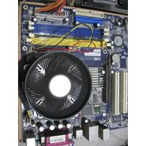 Combo Tarjeta Madre 775 +cpu Intel 3.2 Ghz +memoria Ddr 400