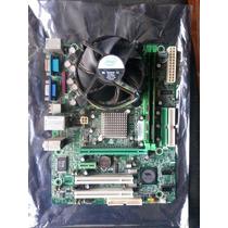 Tarjeta Madre + Procesador Dual Core + 4 Gb Ram