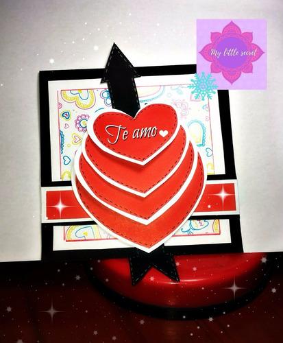 tarjetas manuales, hechas con el corazón
