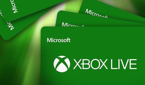 tarjetas microsoft xbox store live 5 10 15 20 25 fastcard