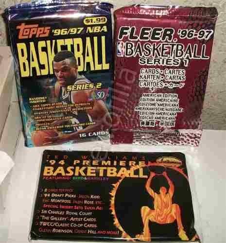 tarjetas nba cerradas años 80s 90s el precio es por todo