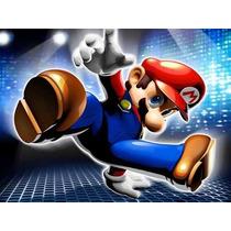 Kit Imprimible Mario Bros Invitaciones, Editables, Tarjetas
