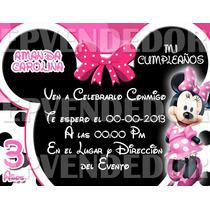 Imagen De Invitacion Mickey Y Minnie Mouse - Epvendedor
