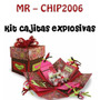 Kit Imprimible Invitaciones Recuerdos Cajitas Explosivas