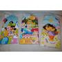 Tarjeta Invitacion Para Fiesta Mickey Minnie Princesas