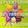 48 Sticker Adhesivos Backyardigans - Calcomanias Epven