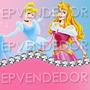 48 Sticker Adhesivos Princesas Disney - Calcomanias Epv