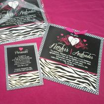 15años Animal Print Cebra-tarjeta De Invitación Personalizad