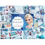 Kit Imprimible Fiesta Frozen Invitacion Candy Bar Juegos