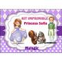 Invitaciones Princesa Sofia Fiesta Etiquetas Patrones