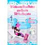 Tarjetas De Invitacion Minnie Mouse Piscinada - Invitaciones
