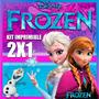 Kit Imprimible Frozen Incluye Diseños Para Niños 2x1