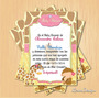 Kit Imprimible Baby Shower Zoo Safari Hembra Pdf