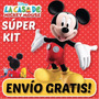 Kit Imprimible La Casa Mickey Mouse Invitaciones Infantiles