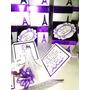 Invitaciones Tarjetas Torre Eiffel Paris Quinceaños Boda