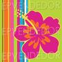 20 Sticker Adhesivos Hawaii - Calcomanias 5x5 Epven