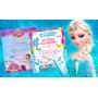 Tarjetas De Invitacion Infantil Cumpleaños Niña Frozen Peppa