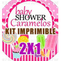 Kit Imprimible Baby Shower Caramelos 2x1