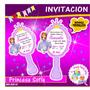 Princesa Sofia Invitaciones Personalizadas Originales!!!