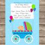 Tarjetas Invitación Baby Shower Digital! Personalizadas Niñ@