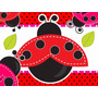 Kit Imprimible Coquito Mariquita Lady Bug Baby Shower Bautiz