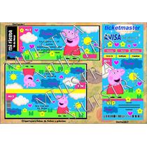 Kit Imprimible Peppa Pig Personalizado