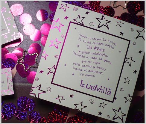 Tarjetas Para 15 Años Invitaciones Mis 15