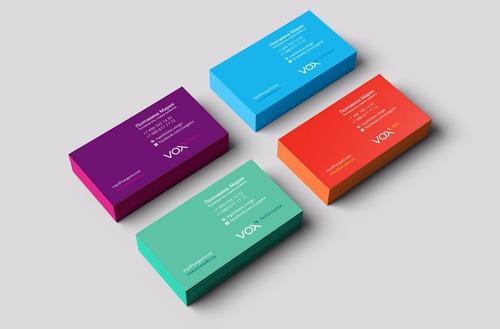 tarjetas personales full color - 100 x 300grs / en 24hs!!!