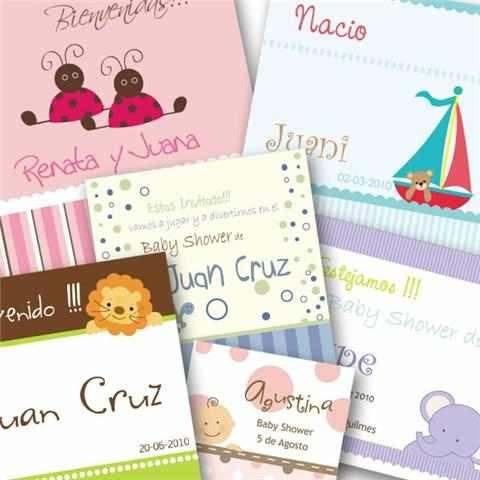 tarjetas personales infantiles por 100 180 00 en mercado libre