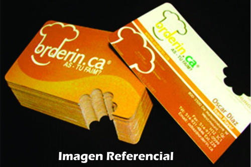 tarjetas personales / presentación troqueladas s/.140