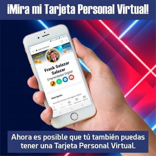 tarjetas personales virtuales