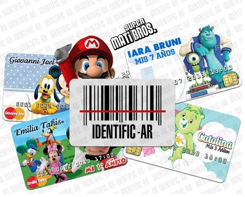 tarjetas plasticas identificacion  acceso credenciales pvc