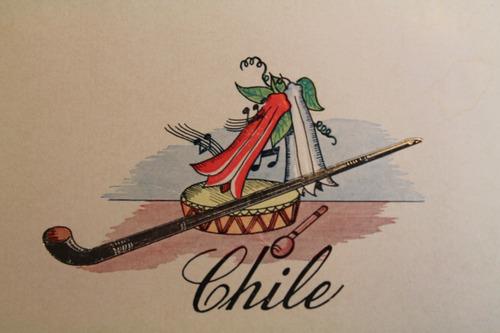 tarjetas postales costumbristas chilenas. (3)