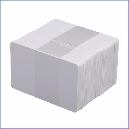 tarjetas pvc cr-80 card blanco para id paquete 100