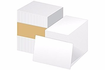 tarjetas pvc cr80/.30 mil  caja c/500 tarjetas en blanco