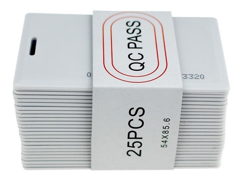 tarjetas pvc rfid proximidad 125 khz originales garantizadas