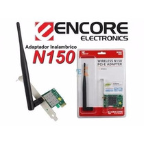 Tarjeta Wireless Pci Express Red Inalambrica 150 Mbps