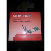 Tarjeta De Red Inalambrica Link Net 3 Antenas 300m
