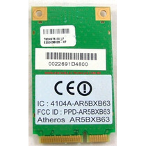 Tarjeta Red Wifi Acer Travelmate 2480 Ar5bxb63