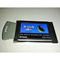 Tarjeta Lan Adapter Wireless D-link, Pcmcia