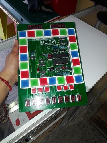 tarjetas reguetoneras gira luz para maquinas tragamonedas