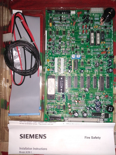 tarjetas siemens para tableros sistema detección incendios
