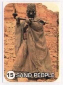 tarjetas starwars de coleccion