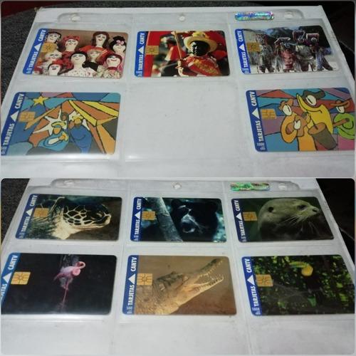 tarjetas telefónicas colección