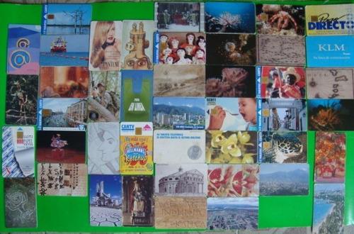 tarjetas telefonicas coleccion cantv