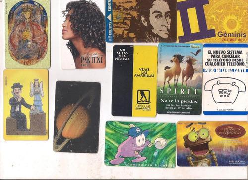 tarjetas telefonicas de coleccion  de venezuela