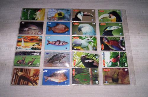 tarjetas telefonicas  extranjeras tematicas completas.