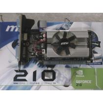 Tarjeta De Video(grafica)nvidia Geforce 210 1g Ddr3 Pci-e2.0