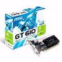 Tarjeta De Video Msi Geforce Gt 610 2gb Ddr3pci Express
