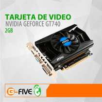 Tarjeta De Video 2gb Nvidia Geforce 740 Pci Express Ddr3